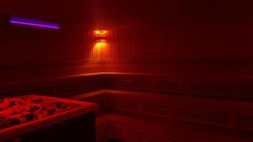 Wnętrze Sauny Eventowej